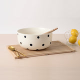 Bungalo Polka Dot Ceramic Bowl Servingware