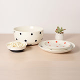 Bungalo Polka Dot Ceramic Serving Dishes