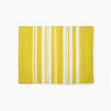 Simple Stripe Fancy Napkins Citron Yellow