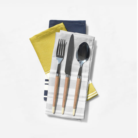 Simple Stripe Placemat & Napkins