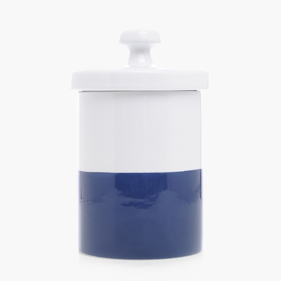 Modern Cookie Jar Navy Blue