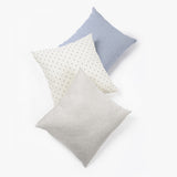 Woven Dot Pillow Cream