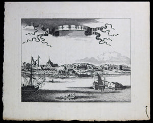 @1690 print of New Amsterdam (New York)