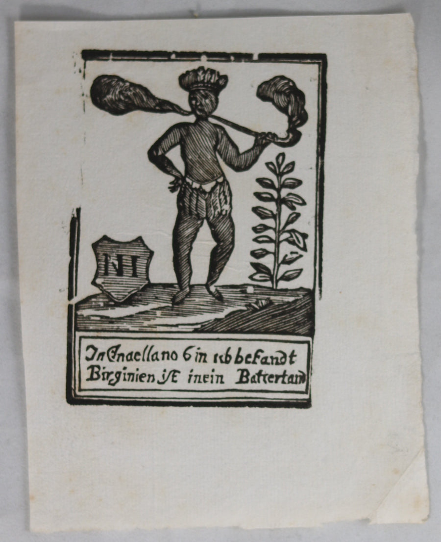 17th century German advertising print for tobacco #4
