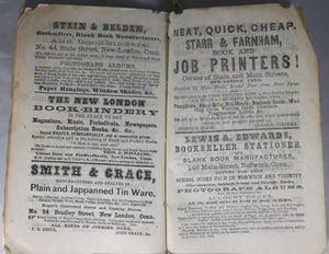 1864 New-England Almanac and Farmer's Friend