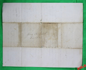 1867 letter, Lowville NY from a mother to her children, interesting religious content