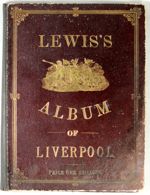 1886 Lewis's souvenir photo album Liverpool UK Intl Exhibition