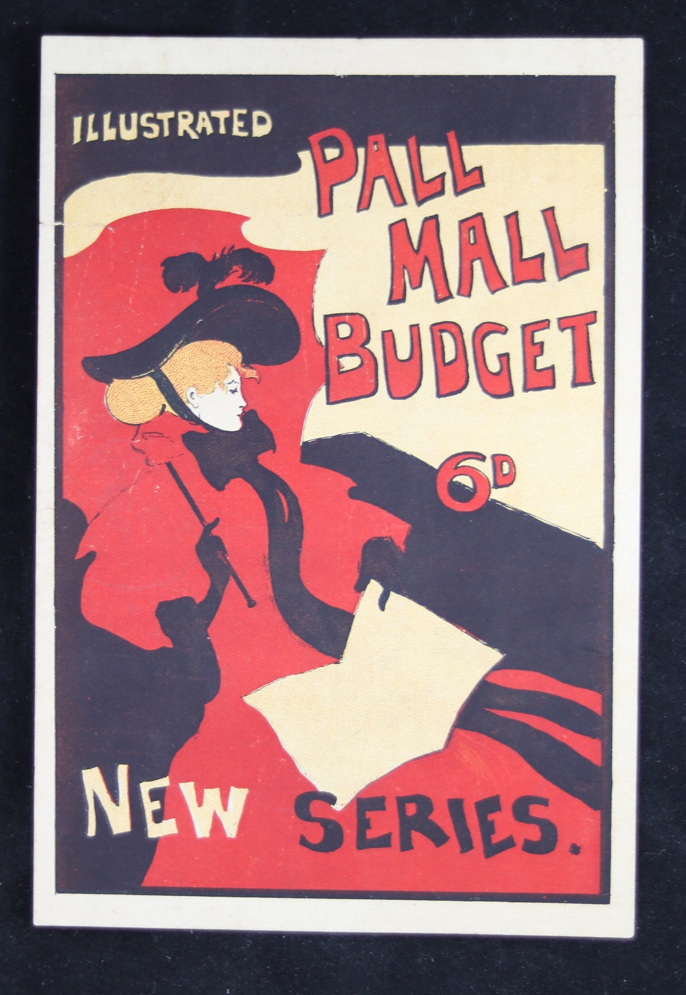 advertising flyer for pall mall budget uk chadbourne ~1894 greiffenhagen flyer for pall mall budget uk