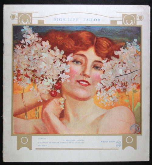 1902 Paris catalogue mode 'High-Life Tailor' illustrations Art Nouveau