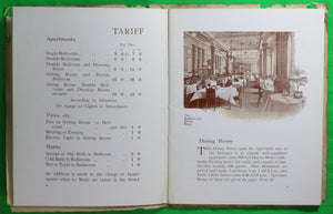 @1902 pamphlet Westminster Palace Hotel London UK