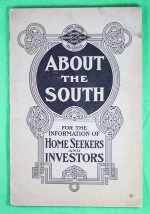1904 Illinois Central Railway pamphlet 'About the South'