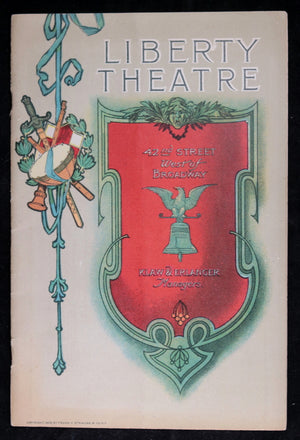 1907 programme, 'Salomy Jane' at the  Liberty Theatre NYC