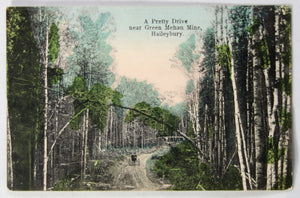 1910 postcard near Green Mehan Mine Haileybury Canada