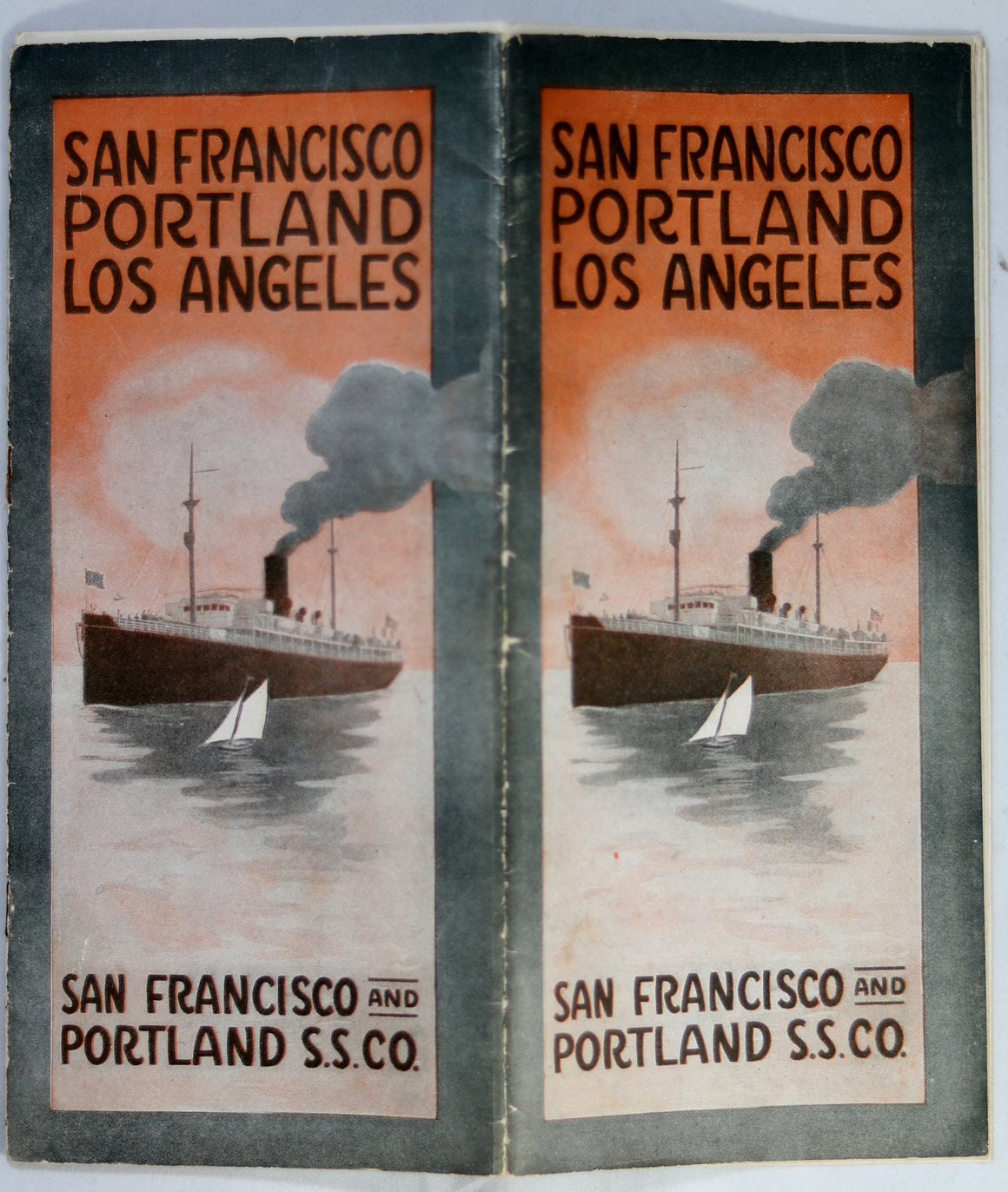 1910s pamphlet for San Francisco and Portland Steam Ship Company