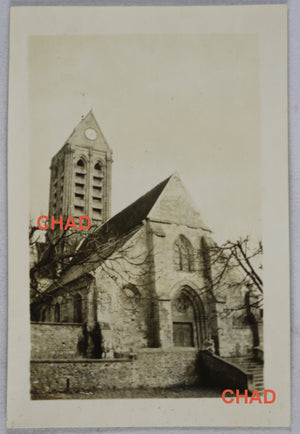 1912 photo église Condé-sur-Marne France