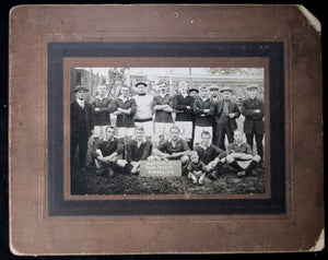 1913 vintage photo Blackpool AFC visit to Hamilton Canada