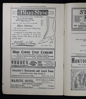 1917 Strauss Magazine Theatre Program - Majestic Theatre #2