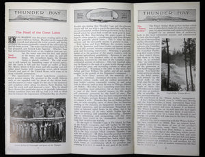 1919 pamphlet Canadian National Railway 'The Rainy River – The Nipigon'