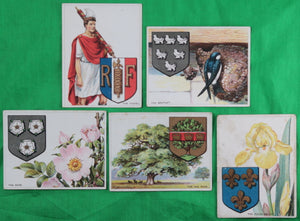 1925 Imperial Tobacco cards, set #C16 'Heraldic Signs'
