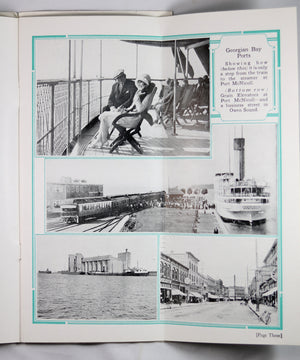 1928 pamphlet Great Lakes Steamship Service (CPR)