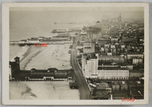 1930 photo of Atlantic City NJ taken from LZ127 Zeppelin