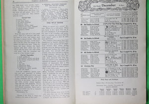 1932 Mennonite Family Almanac