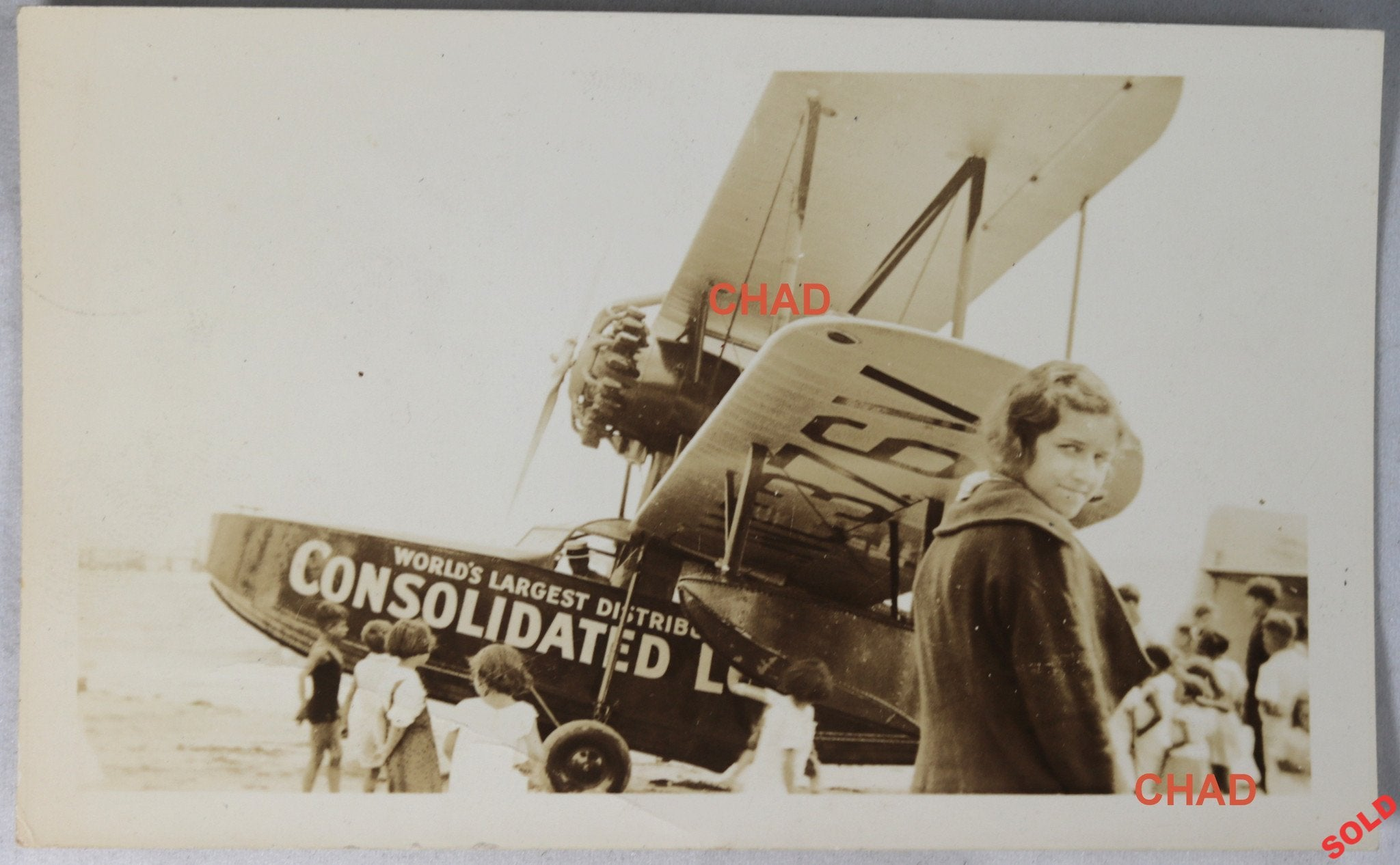 1934 photo Consolidated Lobster Co  MA  Loening flying boat