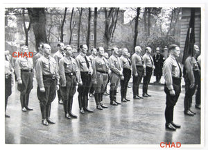 1935 German propaganda photo - march of Old Fighters Munich