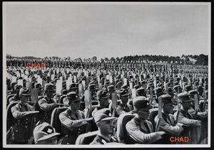 1935 German propaganda photo Hitler rally Nuremberg