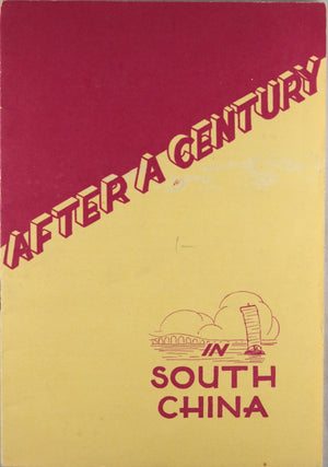 "1936 Baptist pamphlet ""After a Century in South China"""
