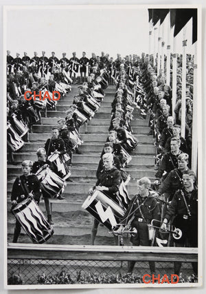 1936 German propaganda photograph Hitler Youth Rally