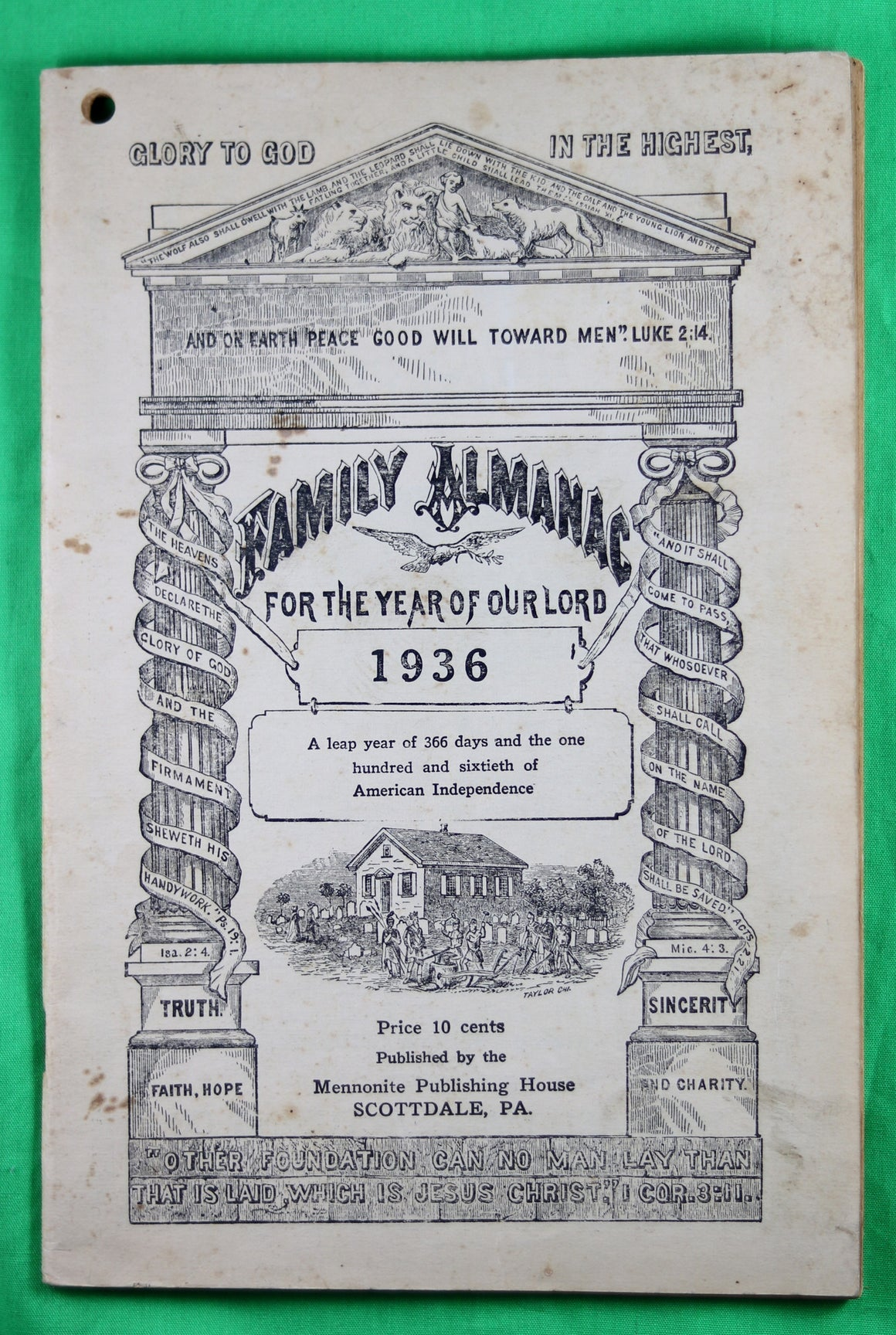 1936 Mennonite Family Almanac