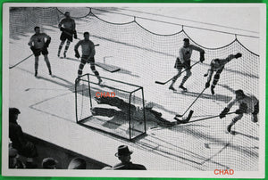 1936 Winter Olympics, photo of Canadian hockey game