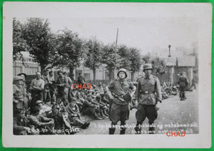 1942 WW2 photo of Canadian POWs at Dieppe
