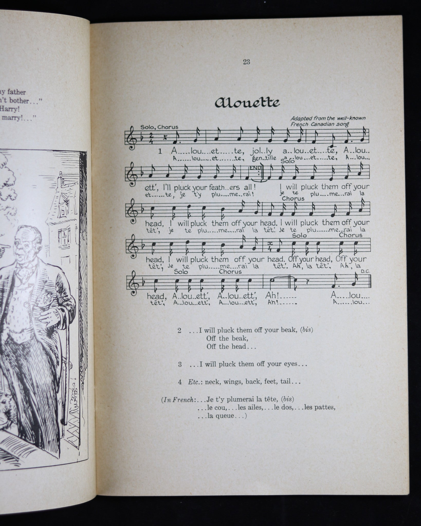 1947 pamphlet, COME 'A SINGING' Canadian Folk-Song