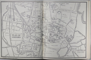 Alden's Guide to Oxford 1949, travel guide UK