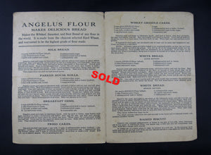 Angelus Flour - advertising and recipe pamphlet (1900s)