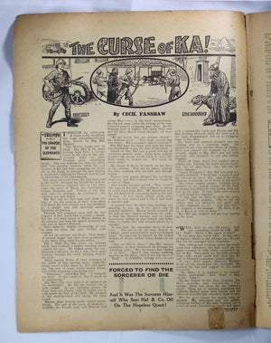 British Boys story paper and comic 'The Triumph' #469 October 14,1933
