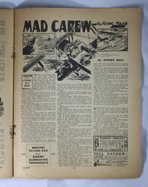 British Boys story paper and comic 'The Triumph' #470 October 21,1933