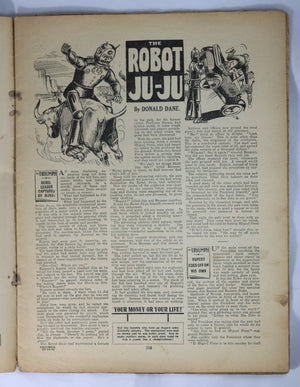 British Boys story paper and comic 'The Triumph' #479 December 23,1933