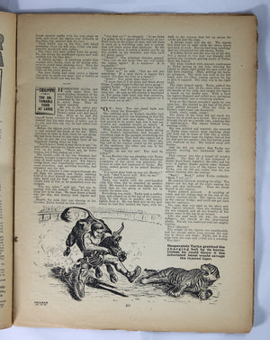 British Boys story paper and comic 'The Triumph' #480 December 30,1933