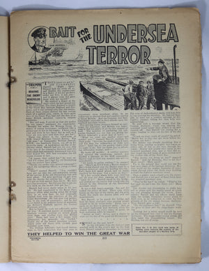 British Boys story paper and comic 'The Triumph' #483 January 20,1934
