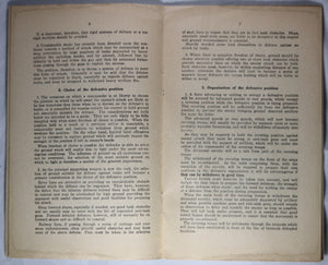 Canada Notes on Defence (Provisional) 1939 military pamphlet