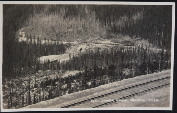 Canada photo postcards along CPR in Western Canada by Byron Harmon