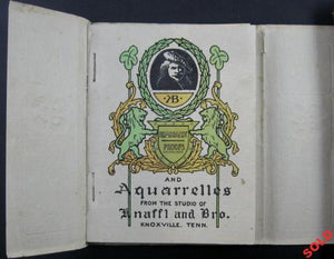 Catalog of Rembrandt Proofs and Aquarelles, studio of Knaffl and Bros (early 1900's)