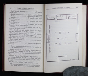 Charge Book of a Subordinate Lodge, Order of Odd Fellows 1937