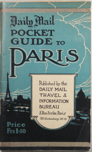 Daily Mail Pocket Guide to Paris (1920's)