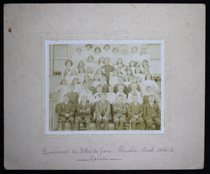 Early 1900s photo – KerMaria Convent School Creek AB