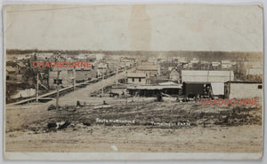 Early photo postcard of South Porcupine Ontario (1910-18)