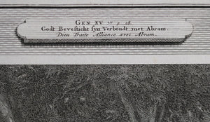 Engraving #13 from Mortier's 'History of Old and New Testament' ~1700